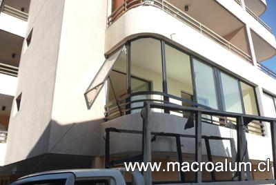 Cierre de terrazas y balcones macroalum fono 22551 7550 for Cierres de aluminio para terrazas